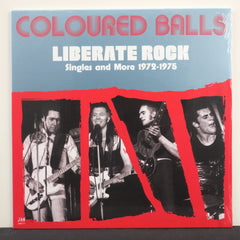 COLOURED BALLS 'Liberate Rock - Singles and More 1972-1975' Vinyl 2LP
