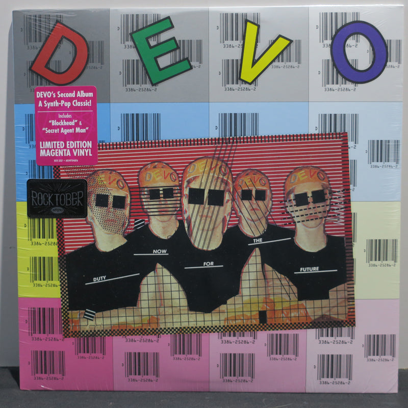 DEVO 'Duty Now For The Future' MAGENTA Vinyl LP