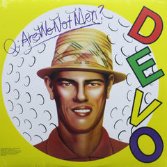 DEVO 'Q: Are We Not Men? A: We Are Devo!' WHITE Vinyl LP