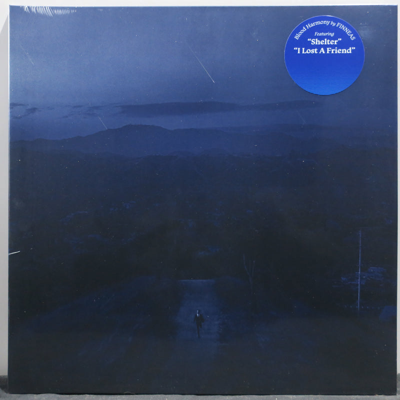 FINNEAS (Billie Eilish's Brother) 'Blood Harmony' BLUE Vinyl LP