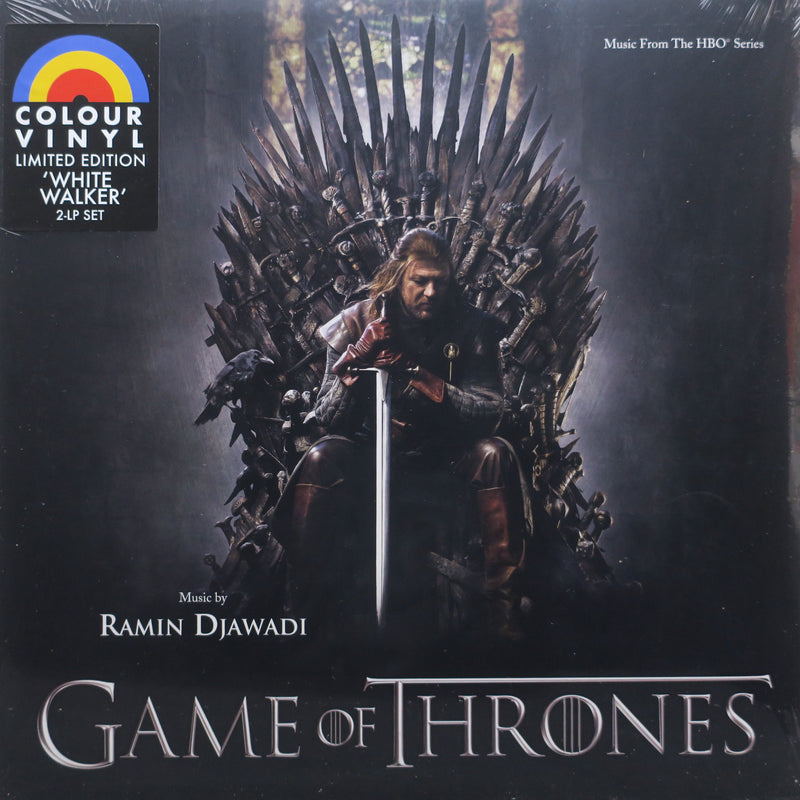 'GAME OF THRONES' Soundtrack WHITE WALKER Vinyl 2LP