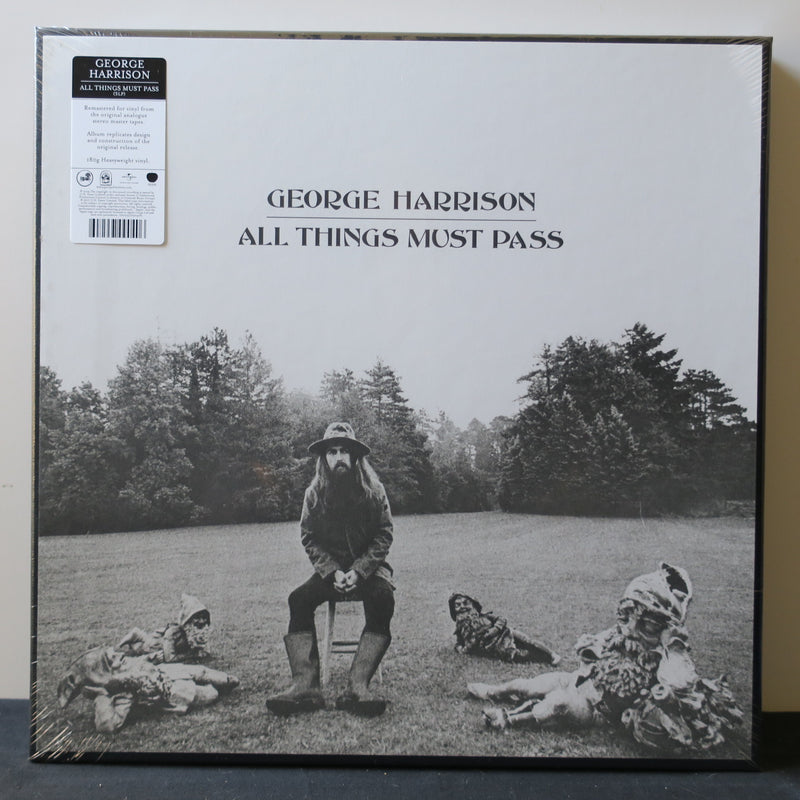 GEORGE HARRISON 'All Things Must Pass' Remastered 180g Vinyl 3LP Box