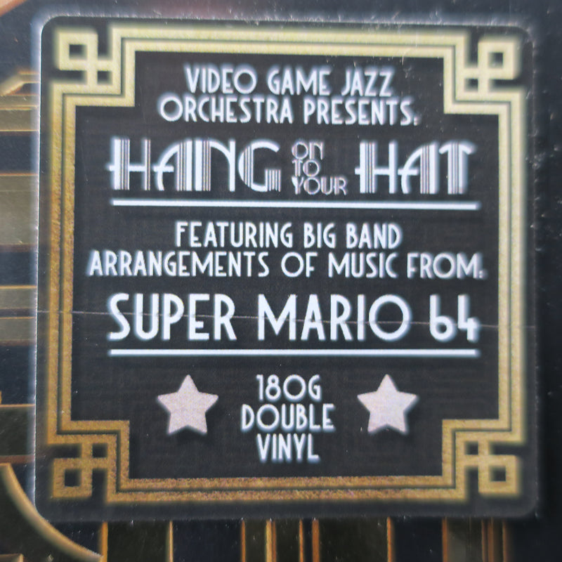 VIDEO GAME JAZZ ORCHESTRA 'Hang On To Your Hat (Music from Super Mario 64)' GOLD Vinyl 2LP