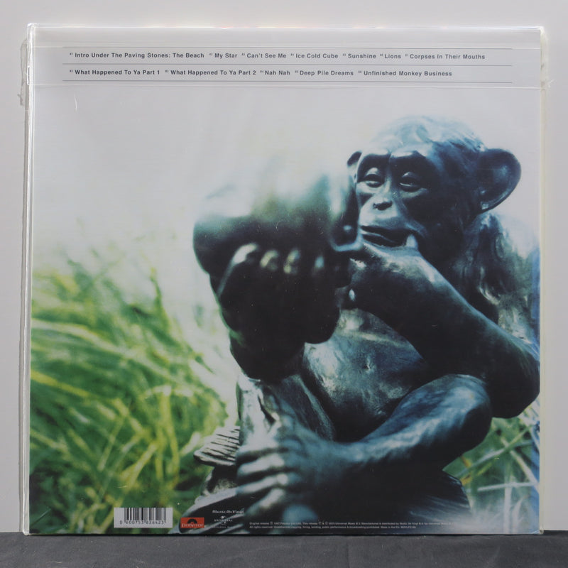 IAN BROWN 'Unfinished Monkey Business' 180g Vinyl LP