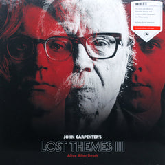 JOHN CARPENTER 'Lost Themes 3: Alive After Death' RED Vinyl LP