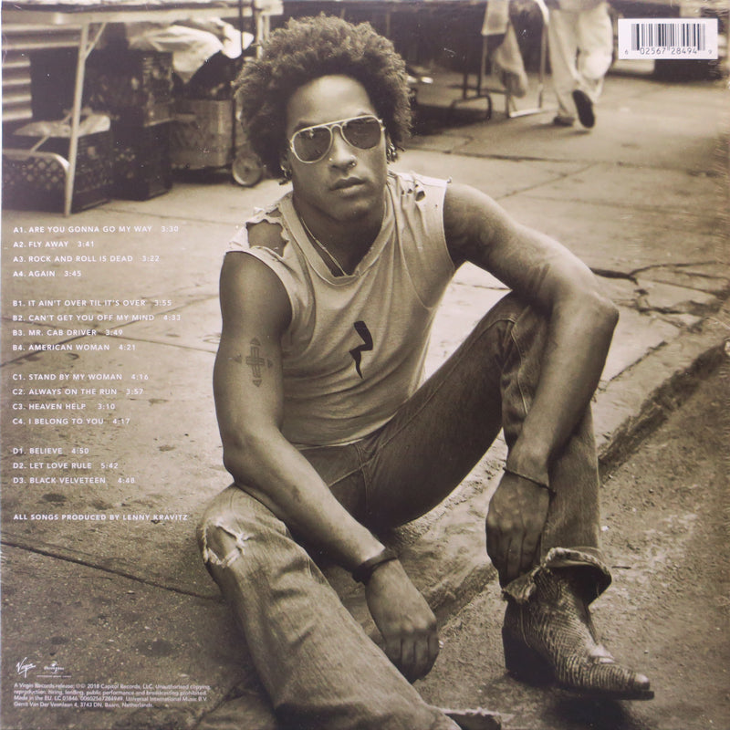 LENNY KRAVITZ 'Greatest Hits' 180g Vinyl 2LP