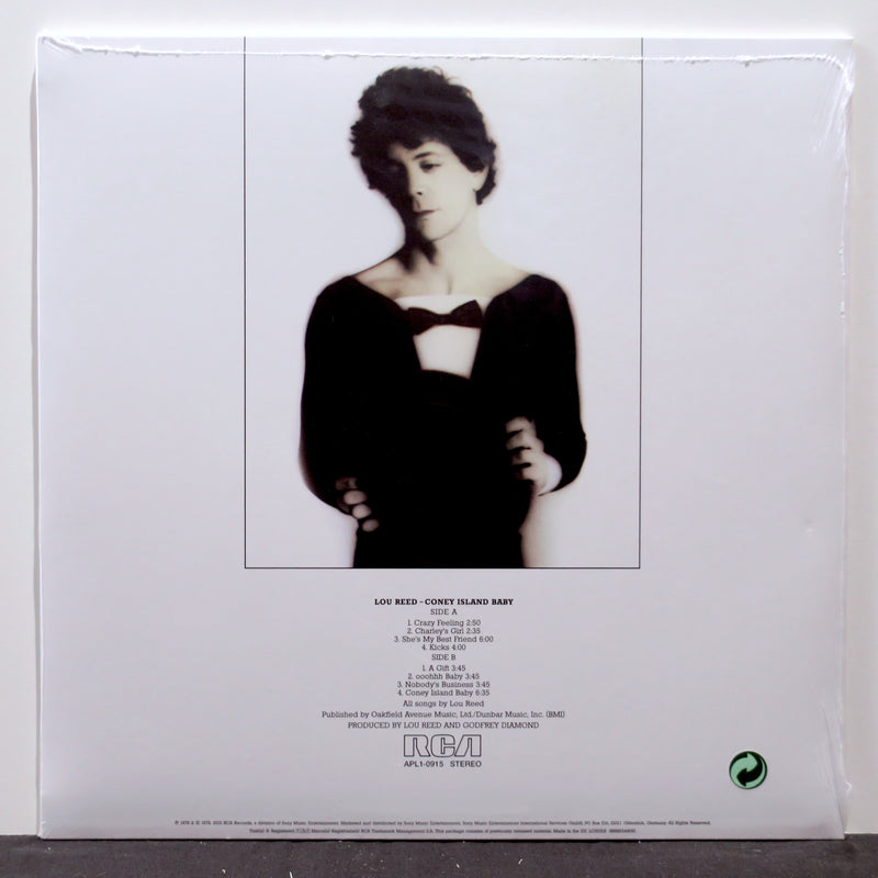 LOU REED 'Coney Island Baby' Remastered Vinyl LP