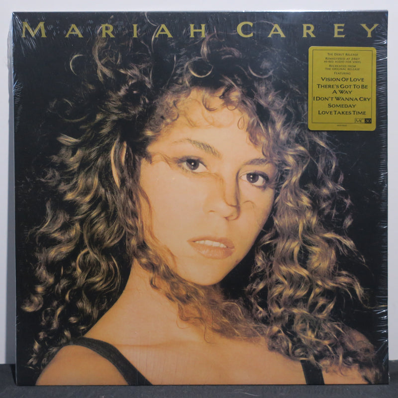 MARIAH CAREY s/t Remstered Vinyl LP