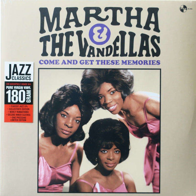 MARTHA & THE VANDELLAS 'Come And Get These Memories' 180g Vinyl LP