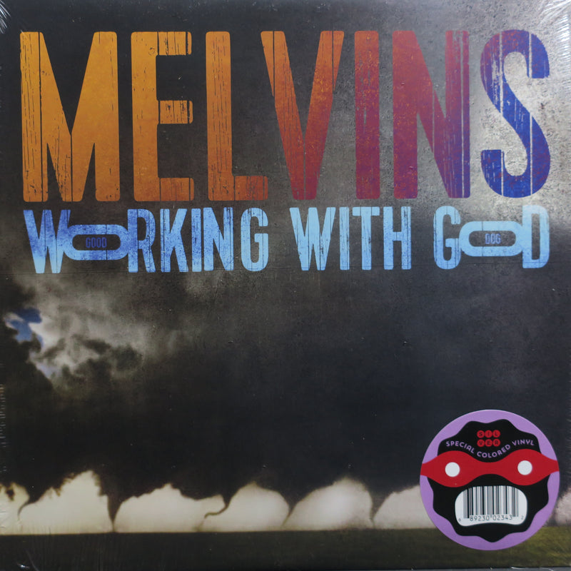 MELVINS 'Working With God' SILVER Vinyl LP