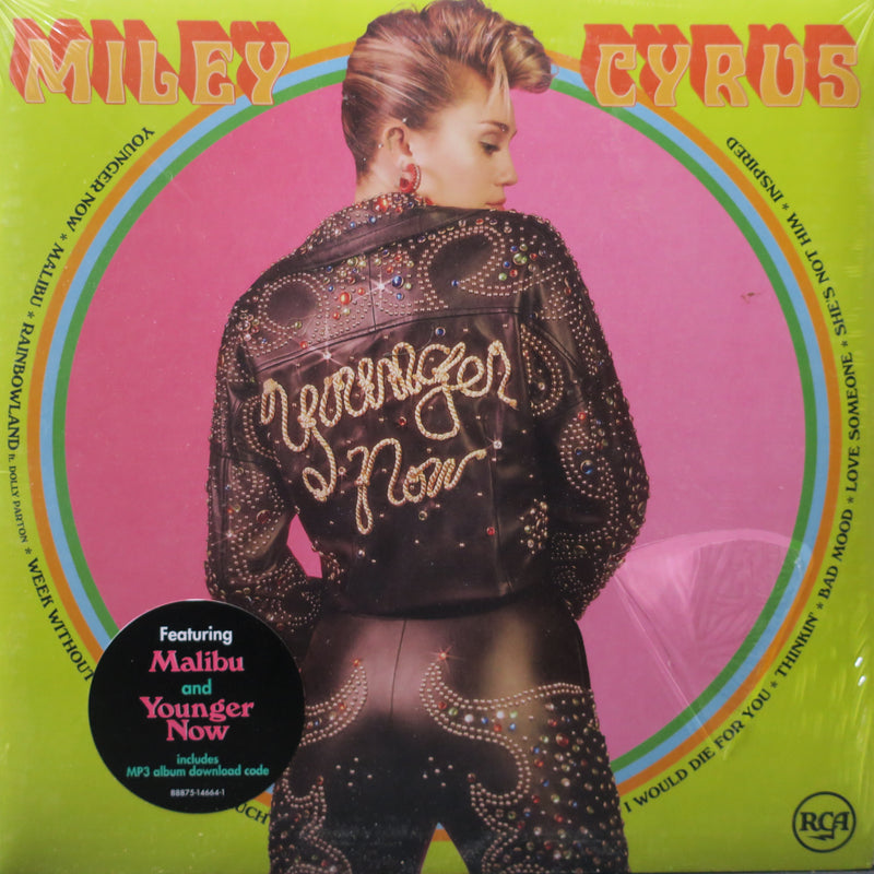 MILEY CYRUS 'Younger Now' Vinyl LP