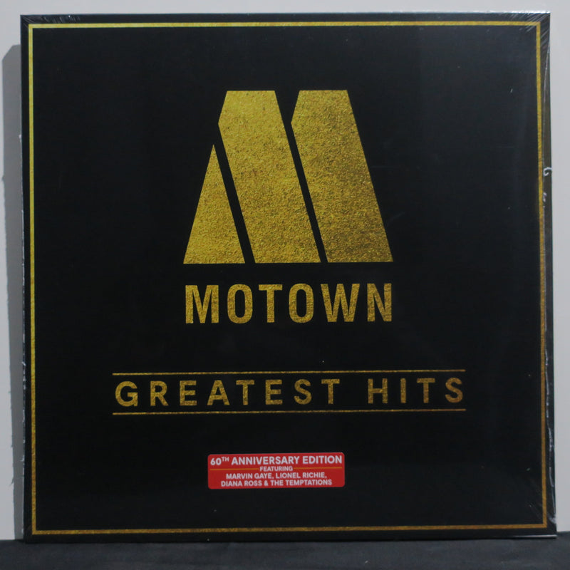 VARIOUS ARTISTS 'Motown Greatest Hits' Vinyl 2LP