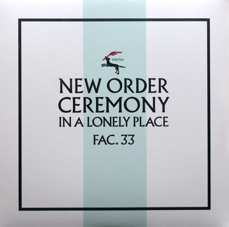 NEW ORDER 'Ceremony' Remastered 180g Vinyl 12""