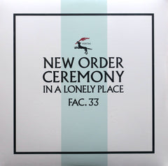 NEW ORDER 'Ceremony' Remastered 180g Vinyl 12