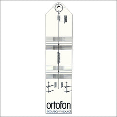 Ortofon Cartridge Alignment Card