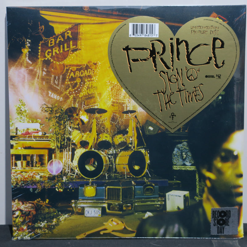 PRINCE 'Sign O' The Times' RSD PICTURE DISC Vinyl 2LP