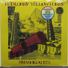RED LORRY YELLOW LORRY 'Smashed Hits' RED Vinyl LP