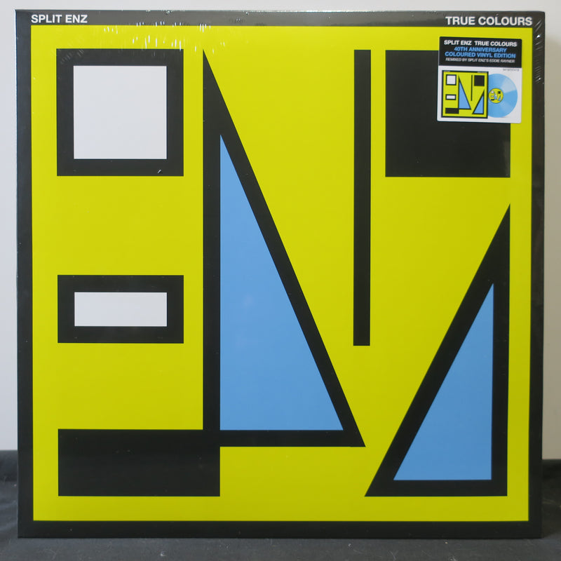 SPLIT ENZ 'True Colours' BLUE Vinyl LP
