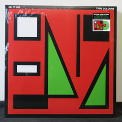 SPLIT ENZ 'True Colours' GREEN Vinyl LP