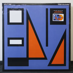 SPLIT ENZ 'True Colours' ORANGE Vinyl LP