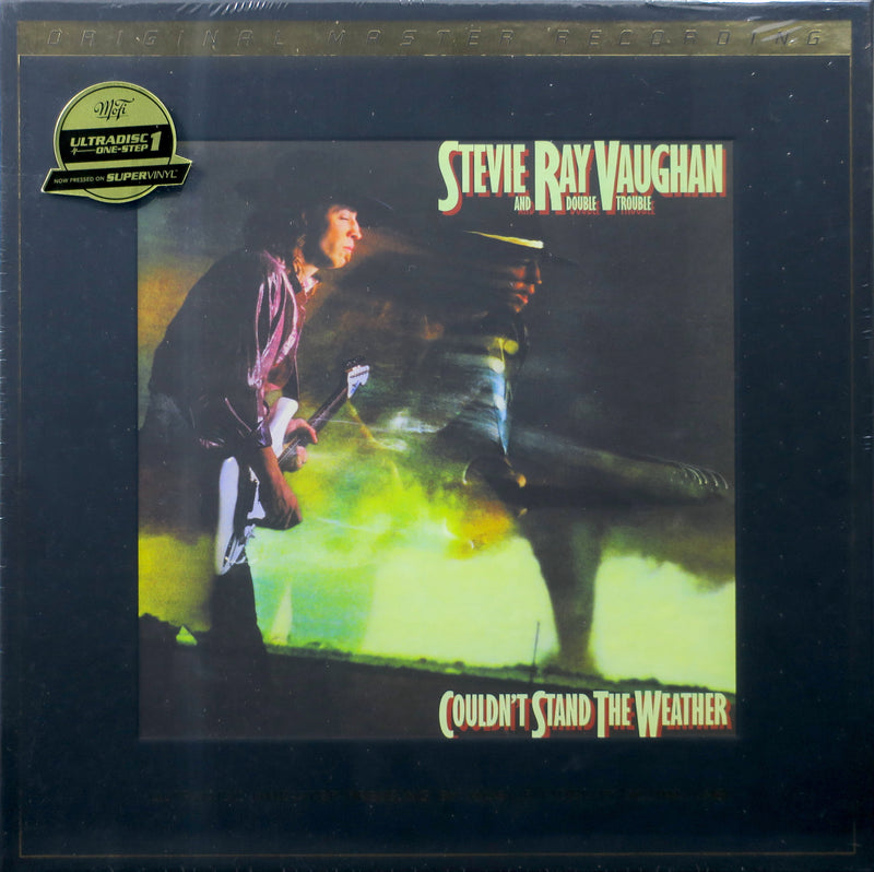 STEVIE RAY VAUGHAN 'Couldn't Stand The Weather' MFSL Remastered 180g SuperVinyl 2LP Box