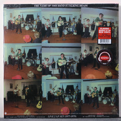 TALKING HEADS 'Name Of The Band Is Talking Heads' RED Vinyl 2LP