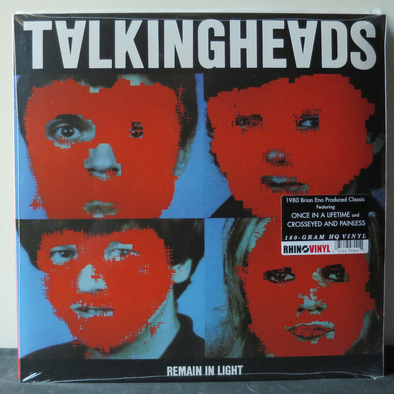 TALKING HEADS 'Remain In Light' Vinyl LP