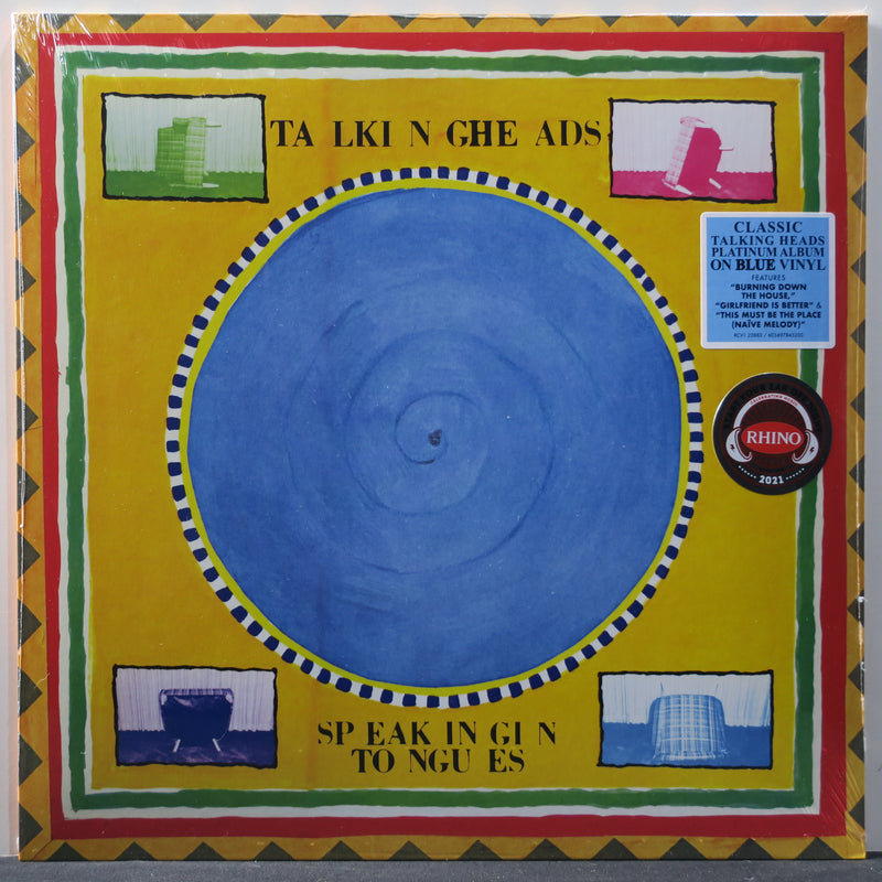 TALKING HEADS 'Speaking In Tongues' BLUE Vinyl LP