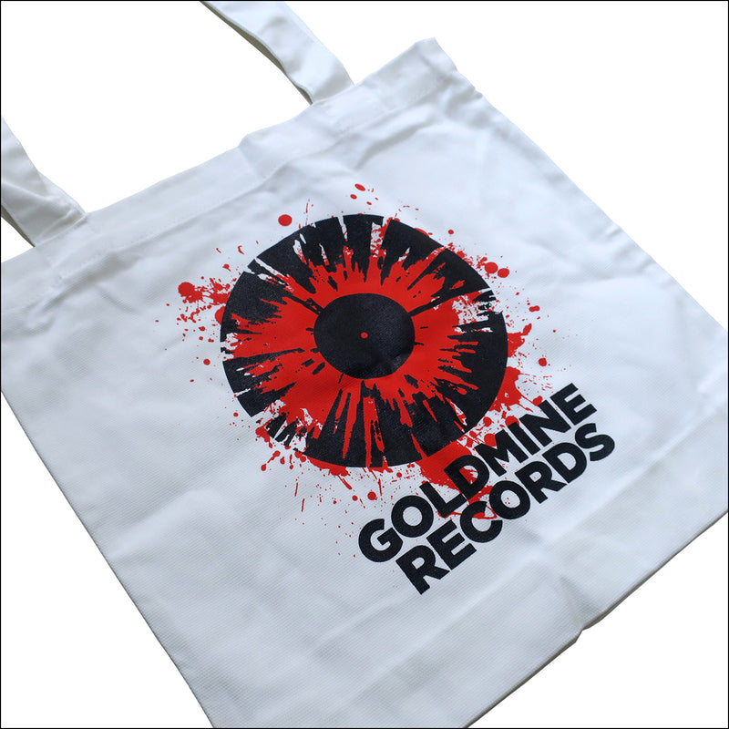 GOLDMINE RECORDS High Quality 100% Cotton Tote Bag