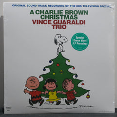 VINCE GUARALDI 'A Charlie Brown Christmas' GREEN Vinyl LP