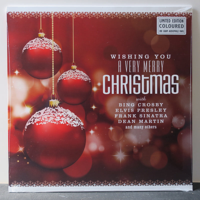 VARIOUS ARTISTS 'Wishing You A Very Merry Christmas' 180g COLOUR Vinyl LP