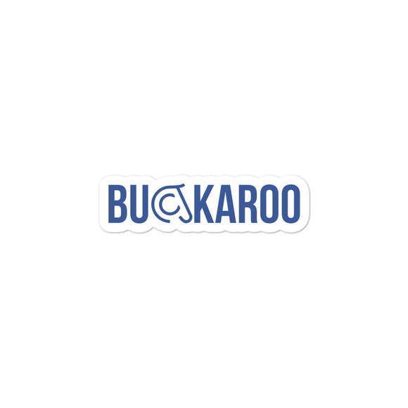 Buckaroo Sticker