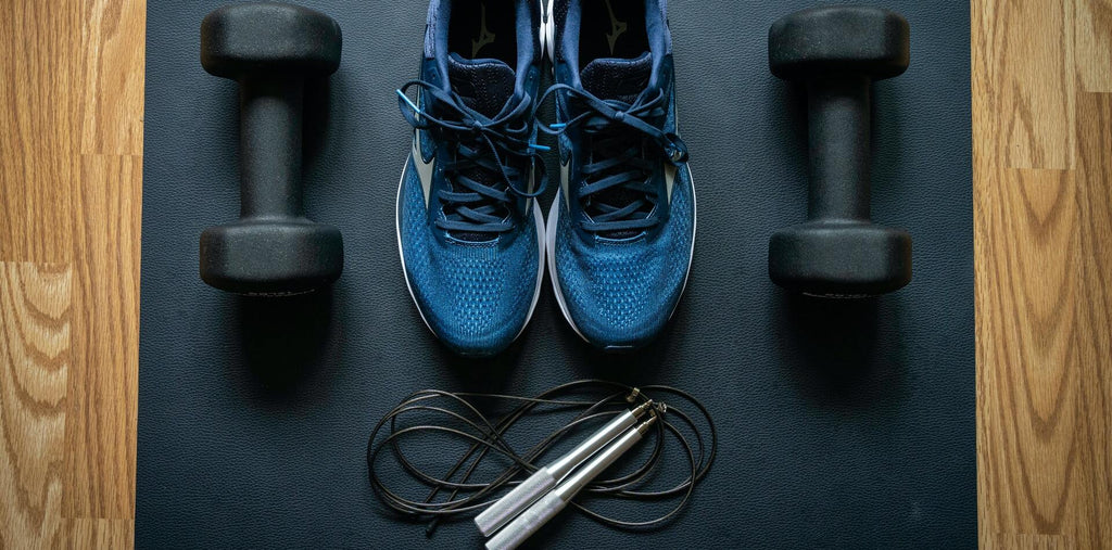 A workout equipment including jump rope