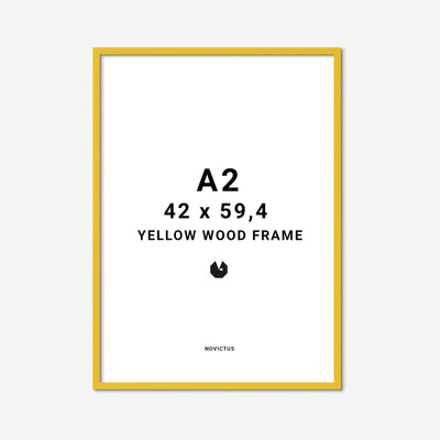 Yellow-Frame-gul-ramme-A2-FindersKeepers