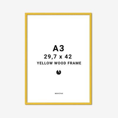 Yellow-frame-gul-ramme-a3-Finderskeepers
