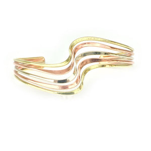 Handcrafted Copper Cuff Bracelet BR.HEC.4002 - HPSilver, LLC.