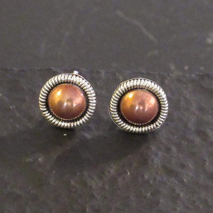 Sterling Silver Stud Earrings - ER.EMA.2006