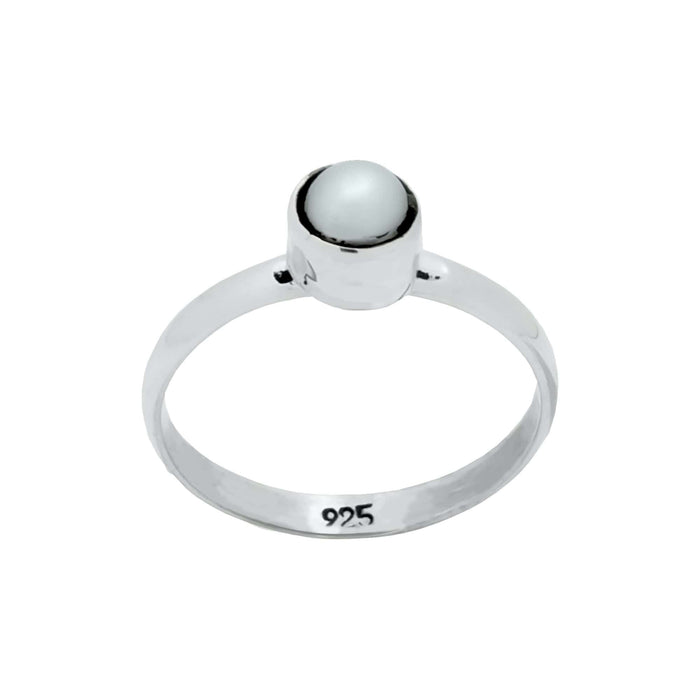 Pearl Ring, Handcrafted with Sterling Silver -  RG.KIK.1001
