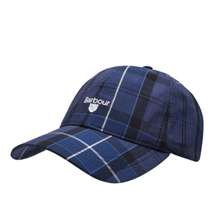 Ink Tartan Barbour Tartan Sports Cap