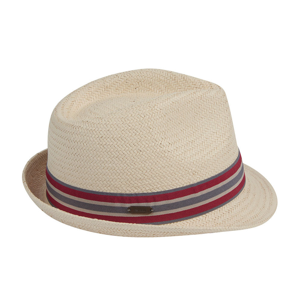 Natural Barbour Whitby Trilby Hat