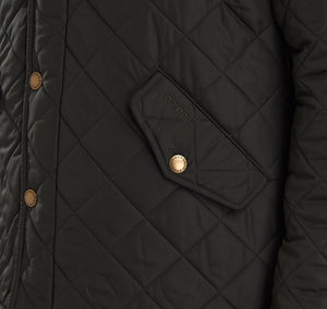 Barbour Olive Powell Quilted Jacket