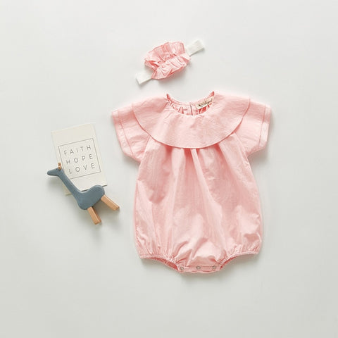 Laced vintage babygrow