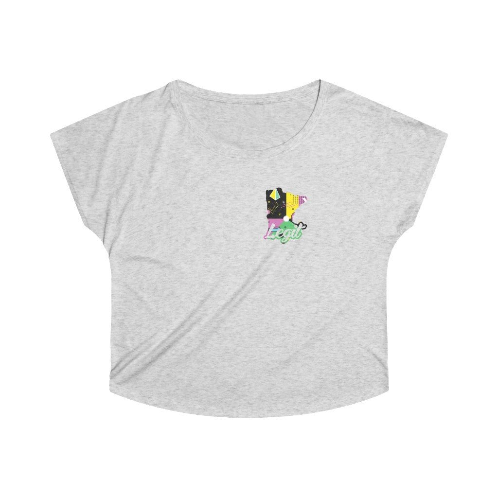 "Women's ""Kapowski"" MN Legit Tri-Blend Loose Fit Tee"