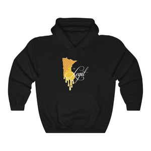 "MN Legit ""Honey"" Unisex Heavy Blend™ Hooded Sweatshirt"
