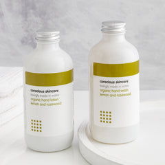 Conscious Skincare hand soaps are an ethical consumer best buy