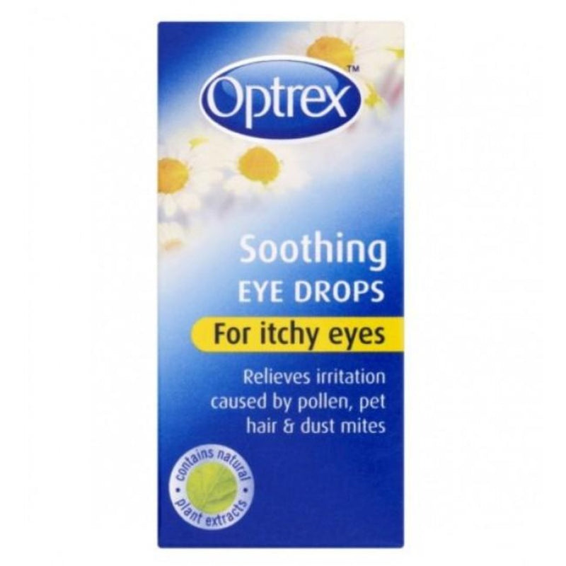 Optrex Soothing Eye Drops for Itchy Eyes | Buy Online at McDaids Pharmacy