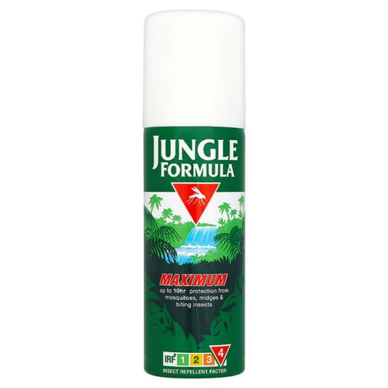 Jungle Formula Medium Insect Spray Aerosol 125ml