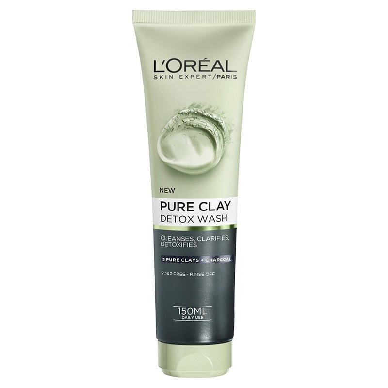 L'Oreal Paris Pure Clay Detox wash