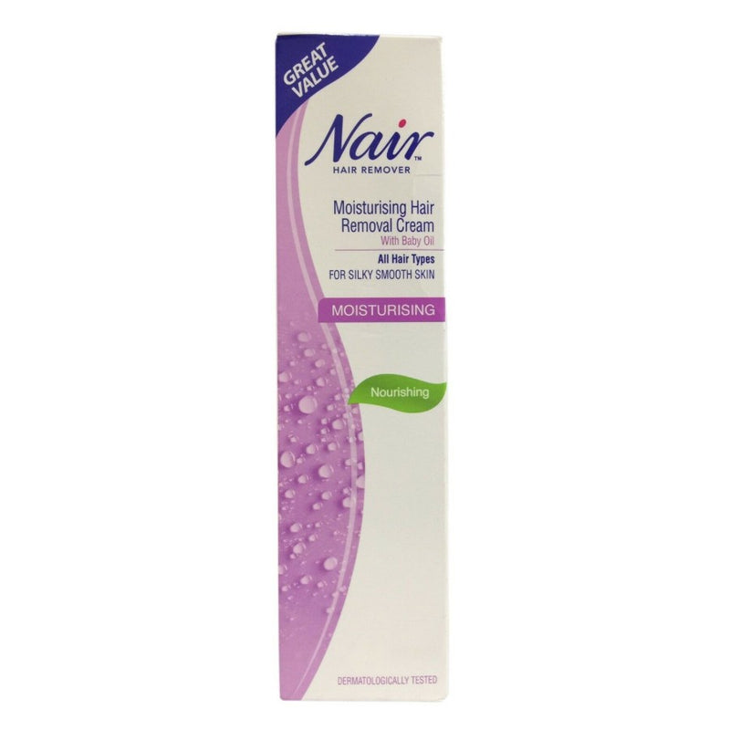 Nair Moisturising Hair Removal Cream, Legs and Body 80ml