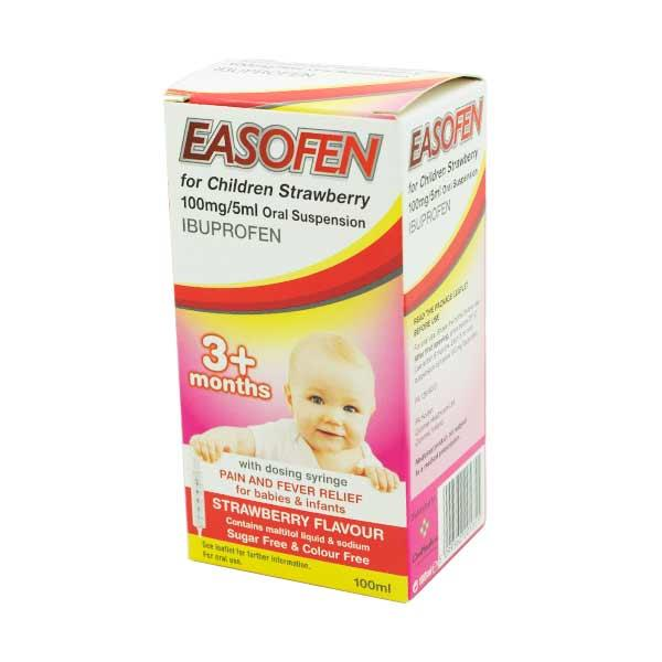 Easofen For Children Strawberry 3 months